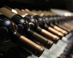 Noble red wines thumbnail in wine rack